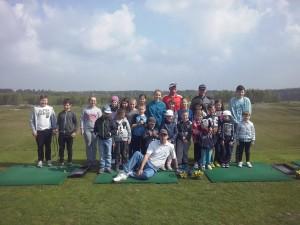 Juniors on Sunday Golf 26 04 2014